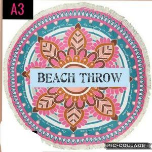 Beach Throw